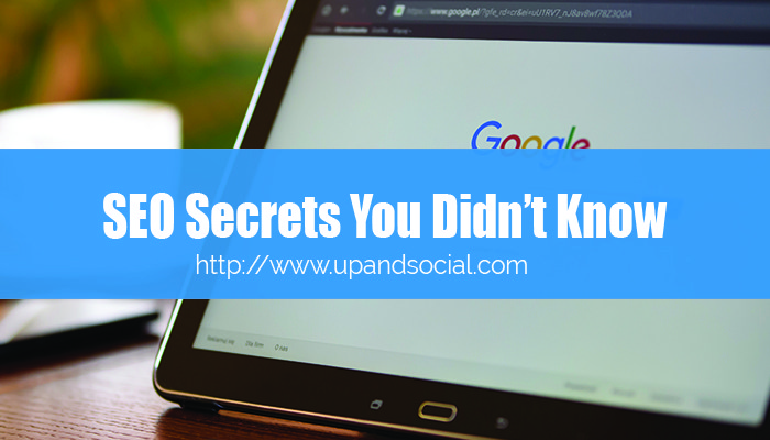 SEO Secrets You Didn't Know