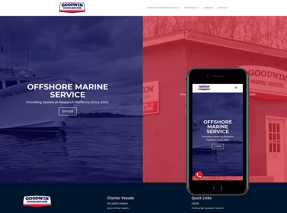 Boatyard Web Design