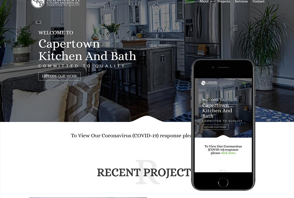 Kitchen Website Design