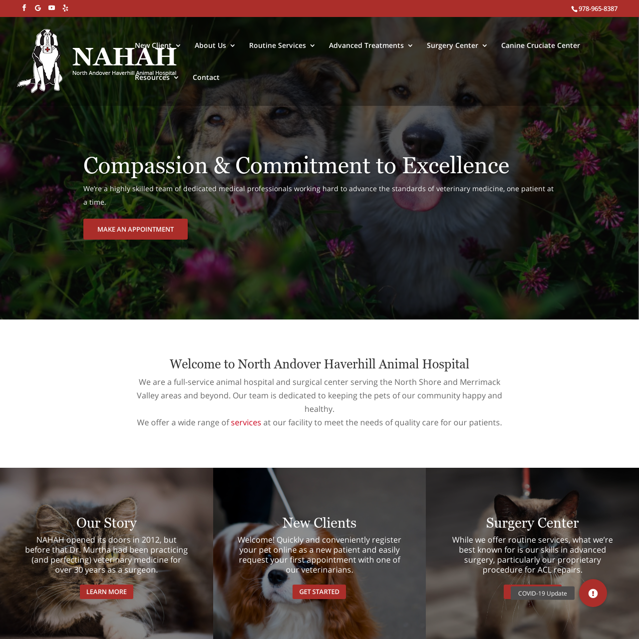 North Andover web design