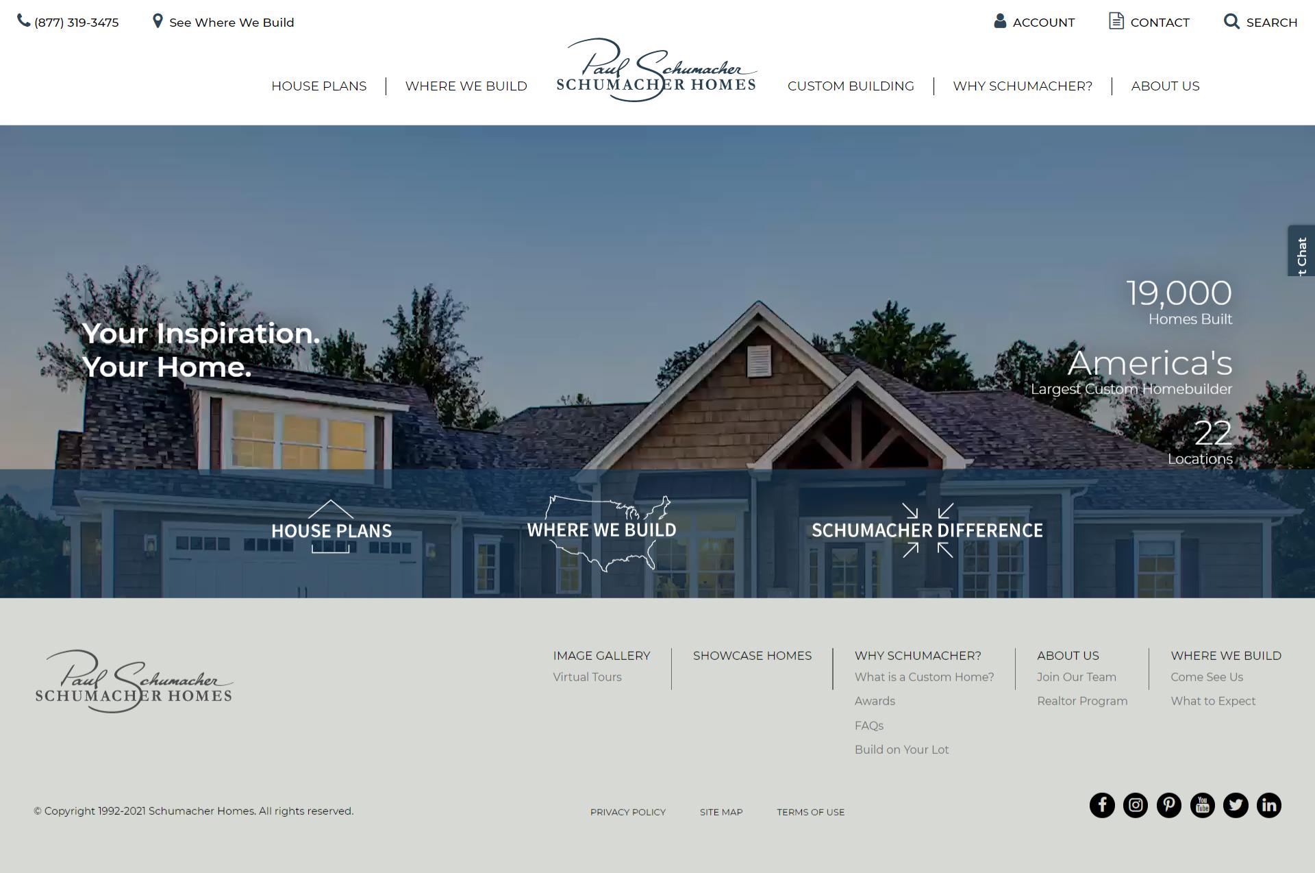 5 of Our Favorite Home Builder Website Designs